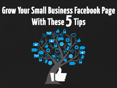 Grow Your Small Business Facebook Page With These 5 Tips